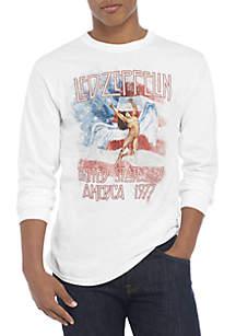 Led Zeppelin Flag Tee Shirt