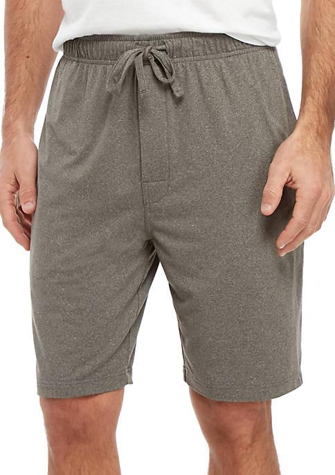 Suede Sleep Shorts