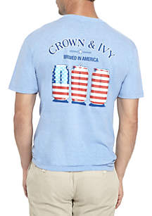 Red White And Brew Tee