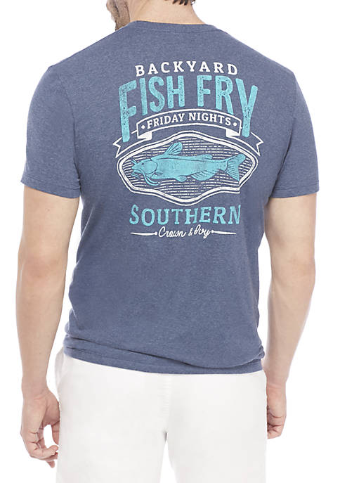 Crown & Ivy™ Fish Fry Tee