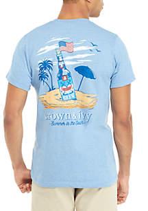 Crown & Ivy™ Brew Beach Graphic T Shirt