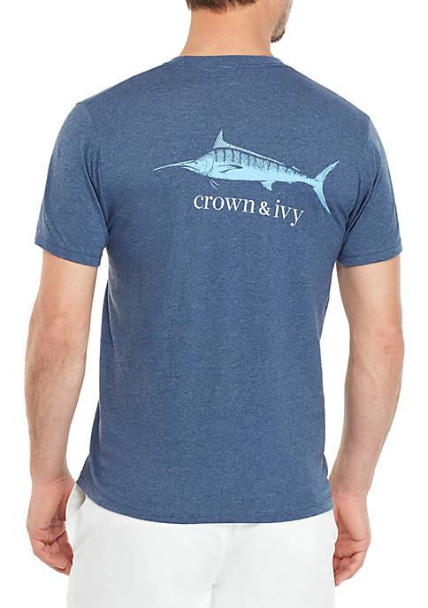 Crown & Ivy™ Sport Swordfish T Shirt
