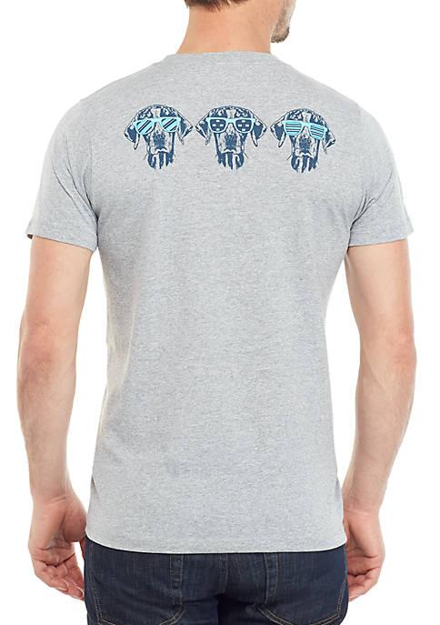 Crown & Ivy™ Dog Sunglasses Graphic T Shirt