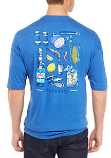 Crown & Ivy™ Big & Tall Cook Out Graphic T Shirt
