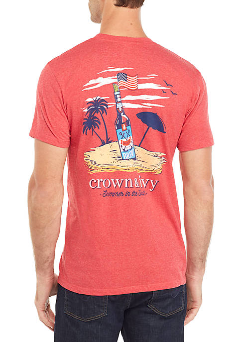 Brew Beach Graphic T Shirt