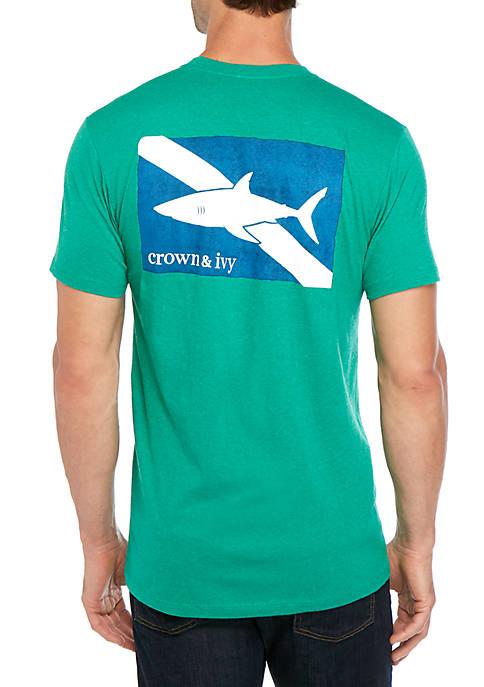 Shark Flag T Shirt