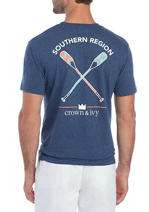 Crown & Ivy™ Southern Region Paddles Graphic T