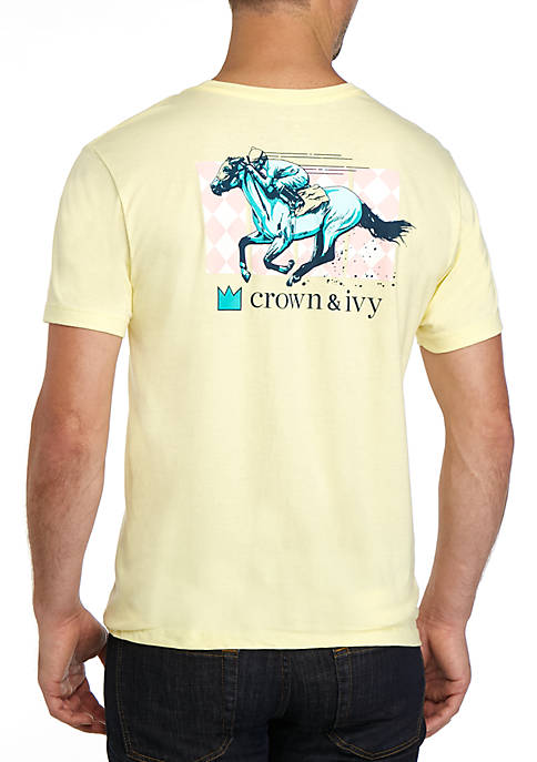 Crown & Ivy™ Derby Graphic T Shirt