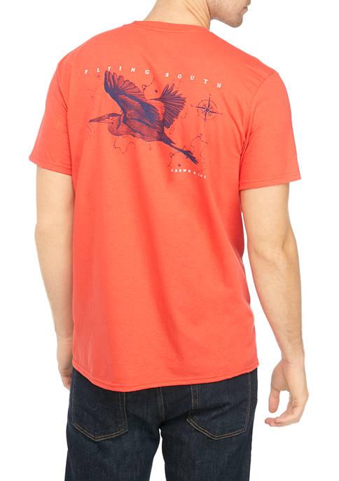 Mens Seabird Graphic T-Shirt
