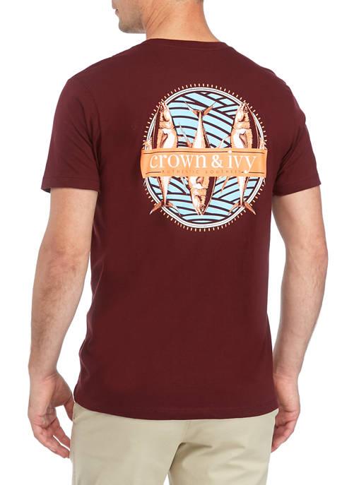 Fish Trio Graphic T-Shirt