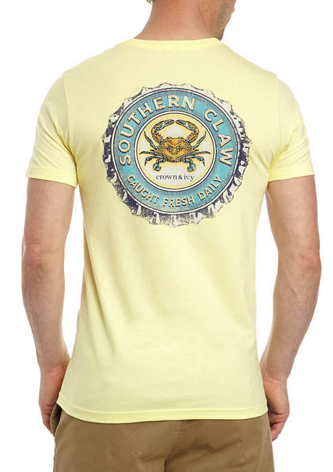 Crown & Ivy™ Mens Short Sleeve Southern Claw