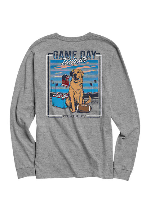 Crown & Ivy™ Long Sleeve Game Day Dog