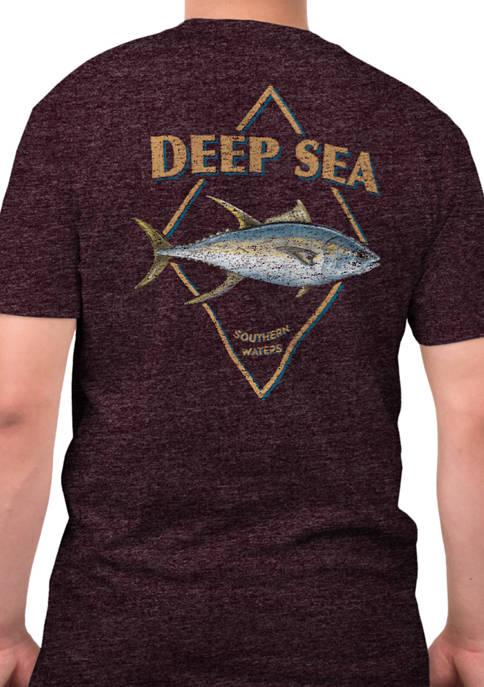 Short Sleeve Wild Catch Graphic T-Shirt