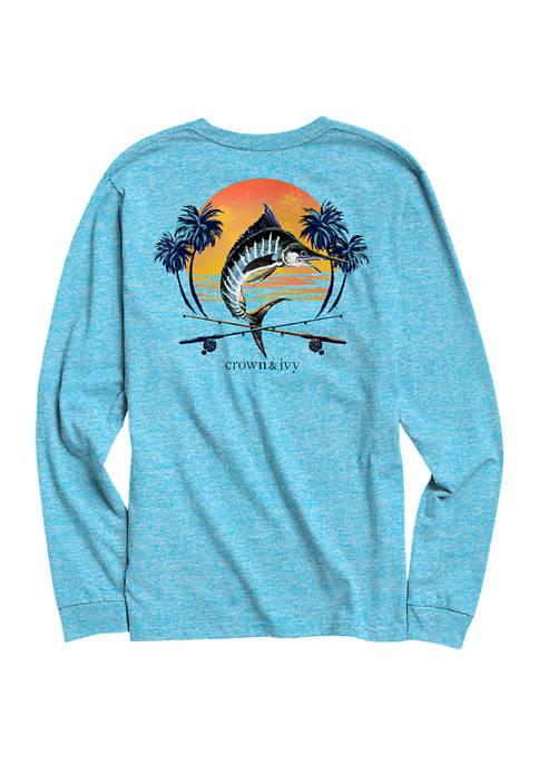 Long Sleeve Marlin Sun T-Shirt