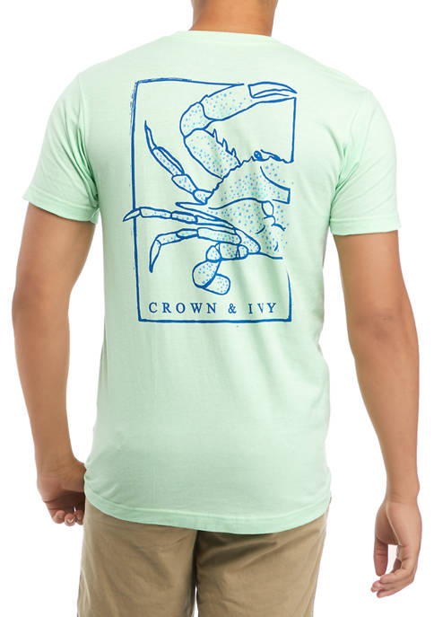 Crown & Ivy™ Speckle Crab Graphic T-Shirt