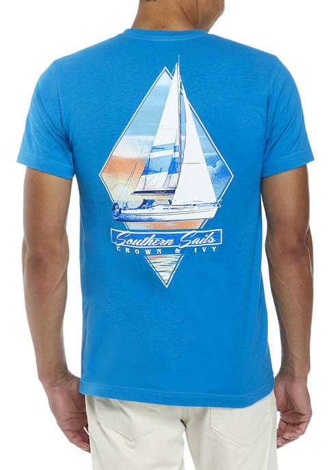 Crown & Ivy™ Sails Graphic T-Shirt