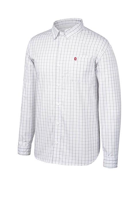 Ohio State Buckeyes No Excuse Woven Shirt