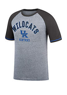 Top Of The World Kentucky Wildcats Home Field All American Baseball Tee