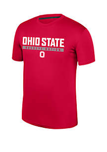 Top Of The World Ohio State Buckeyes Short Sleeve Chrome T Shirt
