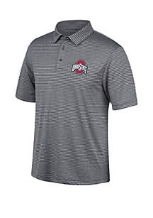 Top Of The World Ohio State Buckeyes Bunker Polo T Shirt