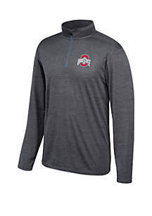 Top Of The World Ohio State Buckeyes Chrome 1/2 Zip Pullover