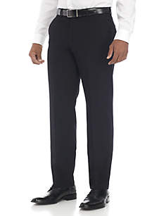 Flat Front Stretch Pants