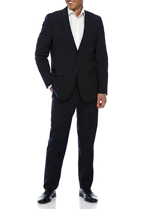 Nautica Non Solid Stripe Suit