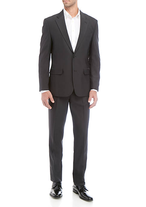 Nautica Two Button Dobby Suit