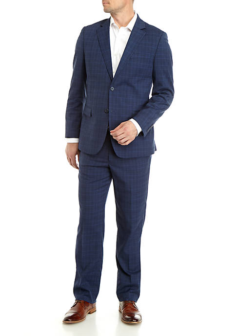 Nautica Plaid Suit