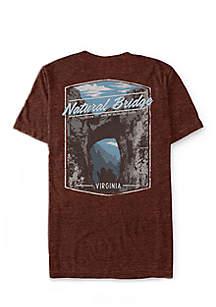 Short Sleeve Virginia Bridge Graphic Tee