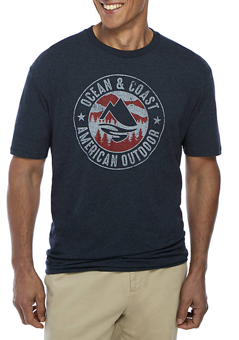 Ocean & Coast® American Outdoor Crew Neck Tee