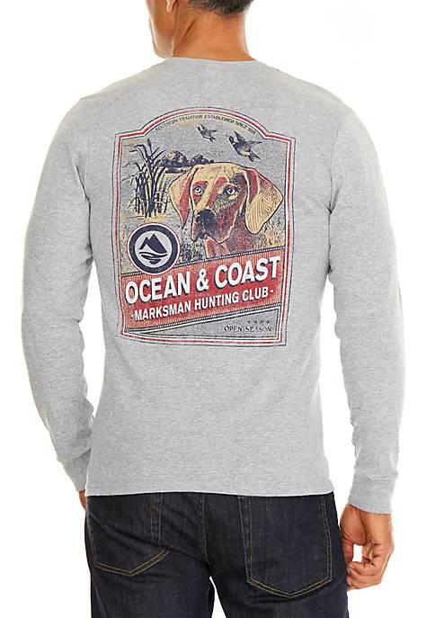 Ocean & Coast® Long Sleeve Cotton Hunting Club