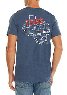 Ocean & Coast® Texas Screen Print Tee