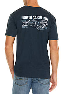 North Carolina Screen Print Tee