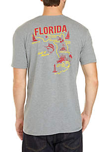 Ocean & Coast® Florida Screen Print Tee