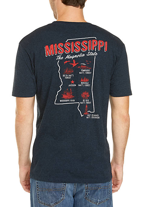 Mississippi Screen Print Tee