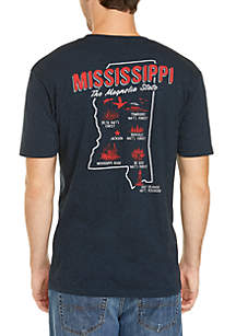 Ocean & Coast® Mississippi Screen Print Tee