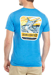 Ocean & Coast® Marlin Graphic T Shirt