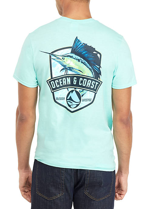 Ocean & Coast® Jumping Sail Graphic T Shirt