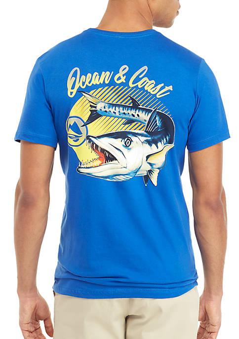 Ocean & Coast® Short Sleeve Barracuda T Shirt