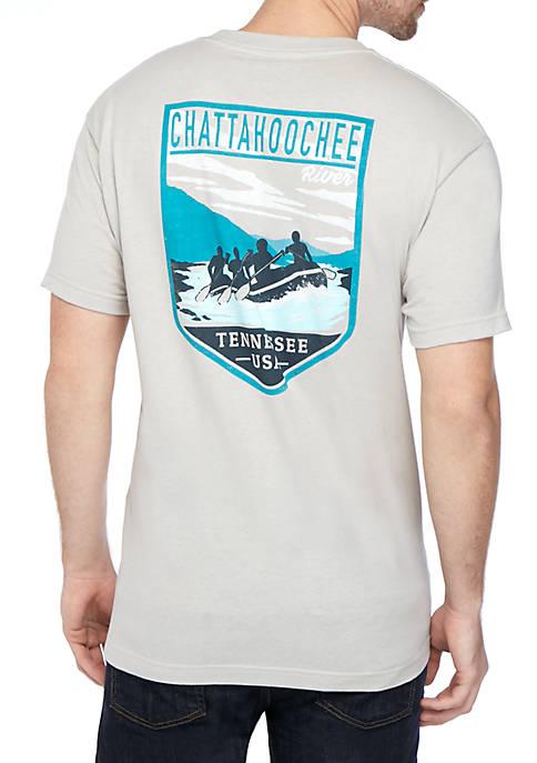 River Rafters Pocket T Shirt
