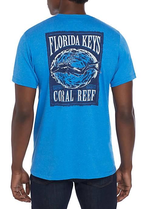 Coral Keys T Shirt