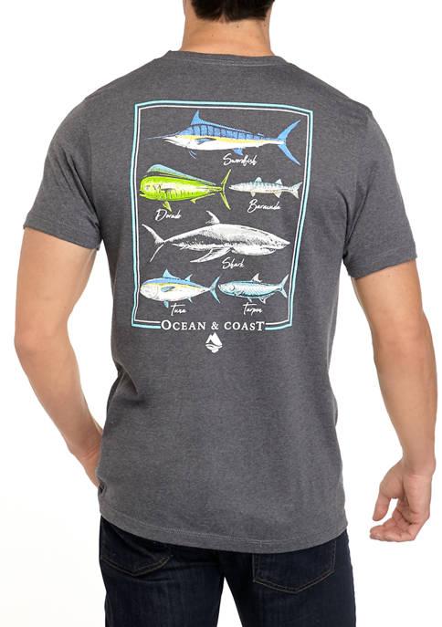Ocean & Coast® Mens Short Sleeve Sport Coast