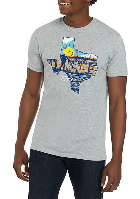 Ocean & Coast® Mens Texas Explorer Graphic T-Shirt
