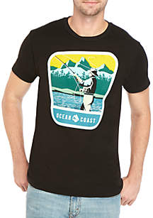 Ocean & Coast® Fishing Short Sleeve T Shirt