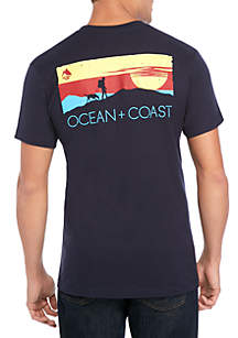Ocean & Coast® Take a Hike Screenprint T Shirt