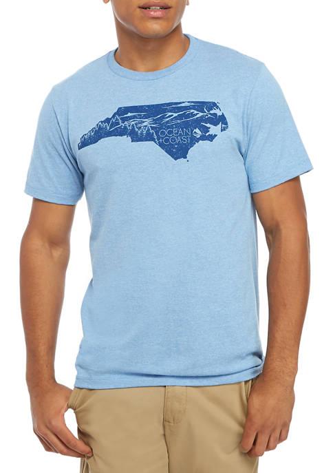 Ocean & Coast® Mens North Carolina Woods Graphic