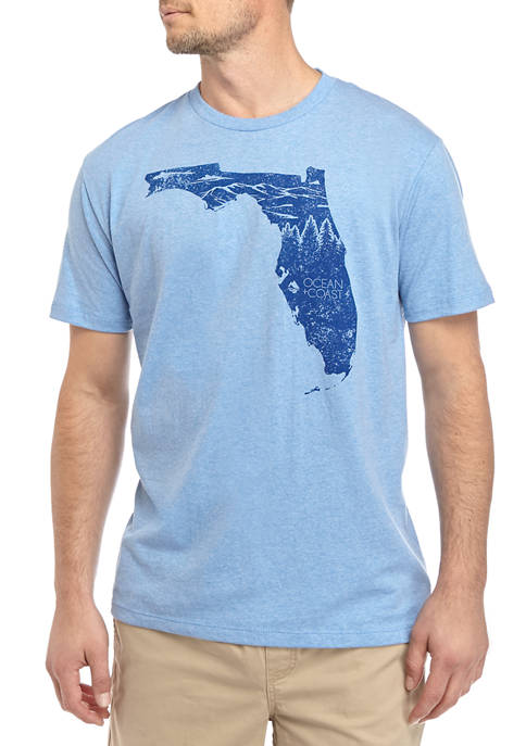 Mens Florida Woods Graphic T-Shirt