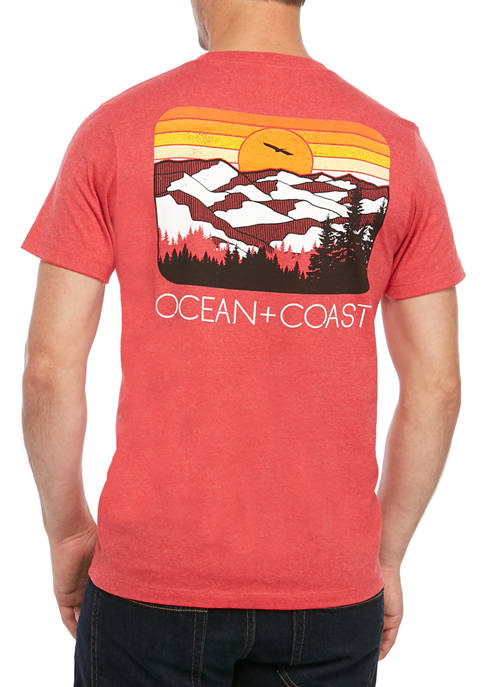 Ocean & Coast® Mens Appalachian Short Sleeve Graphic