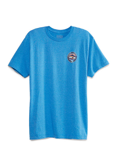 Ocean & Coast® Mens Short Sleeve Ocean Graphic